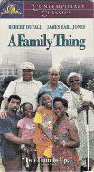 A Family Thing VHS