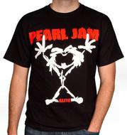 Pearl JamMen's Retro T-Shirt