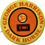 George Harrison Vintage Pin