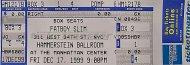 Fatboy Slim Vintage Ticket