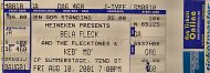 Bela Fleck & The Flecktones Vintage Ticket