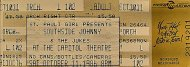 Southside Johnny Vintage Ticket