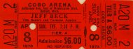 Jeff Beck Vintage Ticket