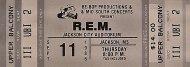 R.E.M. Vintage Ticket