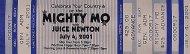 Mighty Mo Vintage Ticket