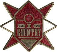 Big Country Pin