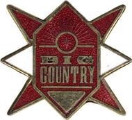 Big Country Pin