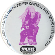 Johnny Winter Pin