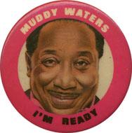 Muddy Waters Pin