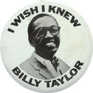 Billy Taylor Pin