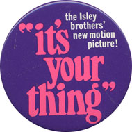 The Isley Brothers Pin