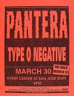 Pantera Handbill