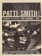 Patti Smith And Band Handbill