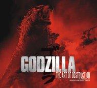 Godzilla - The Art of Destruction Book