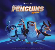 The Art of Penguins of Madagascar Book