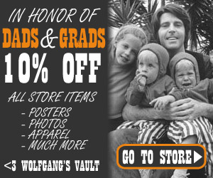 Wolfgang's Vault - dads grads