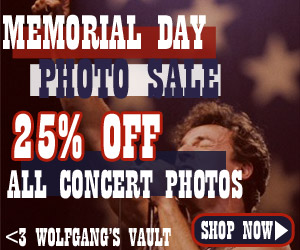 Wolfgang's Vault - Photo Sale