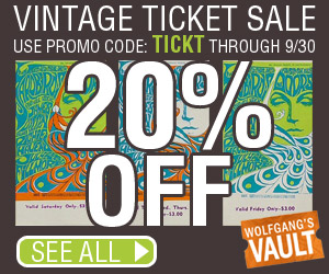 Vintage Ticket Sale