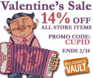 Wolfgang's Vault - Valentine's Sale