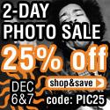 25% Photo Sale