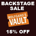 15% off all Backstage items till 10-31-2008