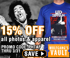 15% off Photos and Apparel