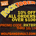 Wolfgang's Vault - 10% off orders over $100