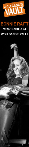 Wolfgang's Vault - Bonnie Raitt Memorabilia