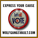 Express Yourself with Vintage Political Pins from Wolfgang's Vault