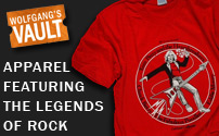 Wolfgang's Vault - Apparel Featuring The Legends of Rock