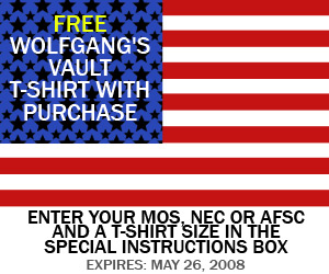 Wolfgang's Vault - Free Gift With Purchase