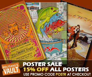 Wolfgang's Vault - Poster Sale