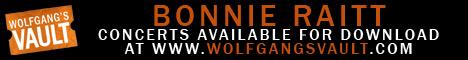 Wolfgang's Vault - Bonnie Raitt Live Concert Recordings