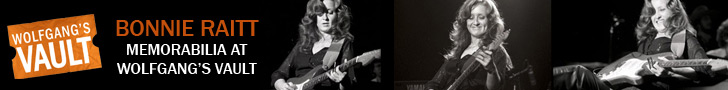 Wolfgangs Vault - Bonnie Raitt Memorabilia