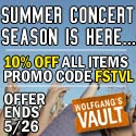 Wolfgang's Vault - 10% off all memorabilia