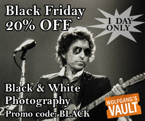 Wolfgang's Vault - Black Friday 20% off