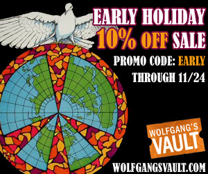 Wolfgang's Vault - Early 10% Sale