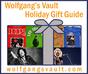 Wolfgang's Vault - Holiday Gift Guide