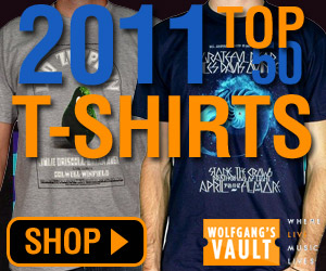 Wolfgang's Vault - Top 50 Shirts of 2011