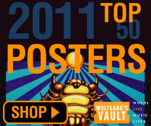Wolfgang's Vault - Top 50 Posters of 2011