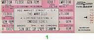 Indigo Girls 1980s Ticket