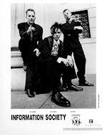 Information Society Promo Print