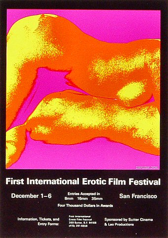 International Erotic Film Festival Handbill