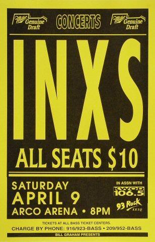 INXS Poster