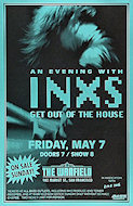INXS Poster