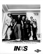 INXS Promo Print