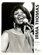 Irma Thomas Promo Print