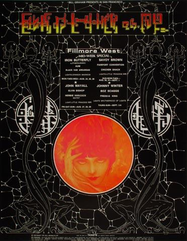 Iron Butterfly Handbill