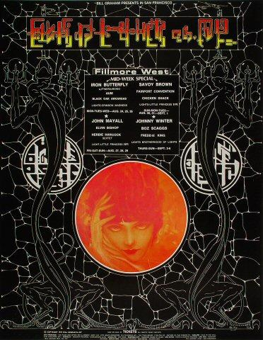 Iron Butterfly Poster