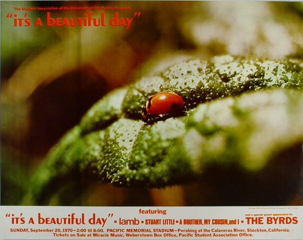 It's a Beautiful Day Poster